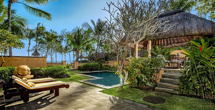 Premier Villa mit privatem Pool - The Oberoi Beach Resort Mauritius