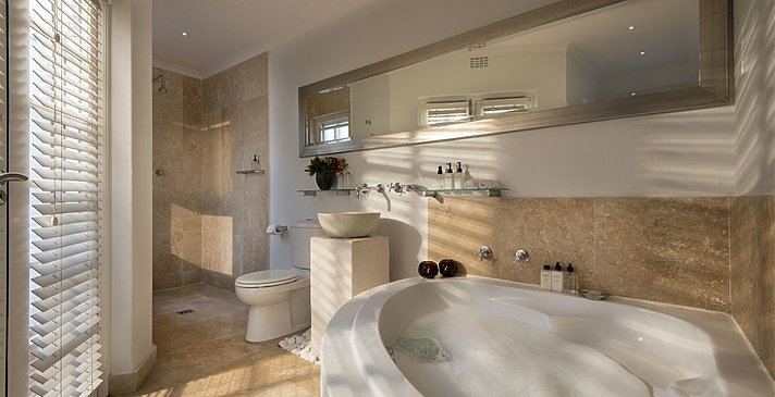 Luxury Room Badezimmer - Cape Cadogan Boutique Hotel