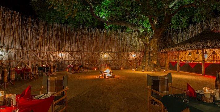 Main Camp Boma - Mala Mala Private Game Reserve