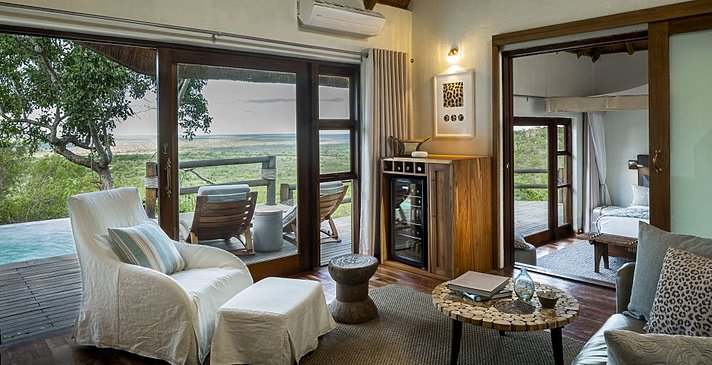 Makwela Suite - Ulusaba Private Game Reserve