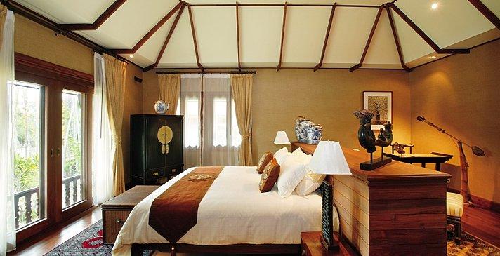 Deluxe Villa - Schlafzimmer