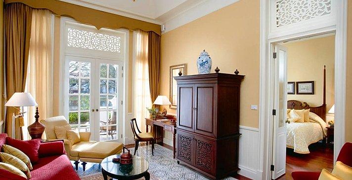 Colonial Suite - Wohnzimmer