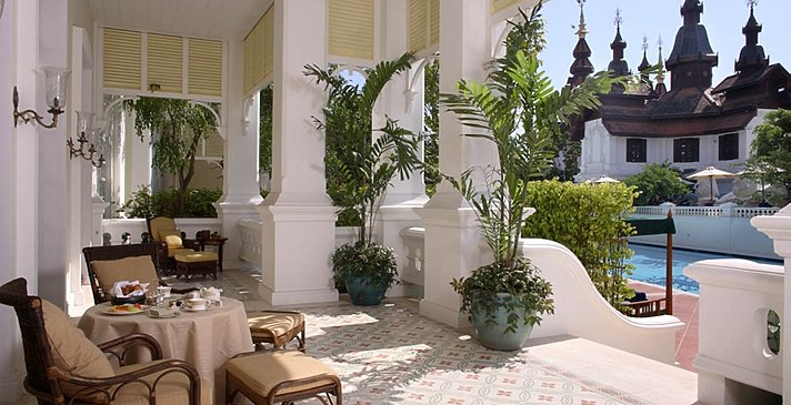 Colonial Suite - Terrasse