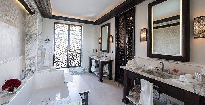 Mandarin Oriental Marrakech - Atlas Suite Badezimmer