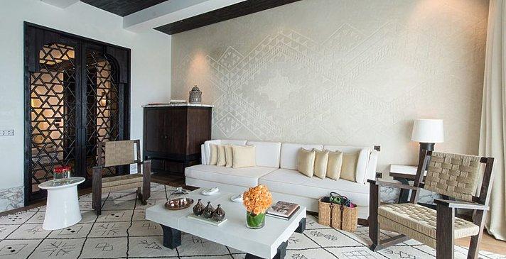 Mandarin Oriental Marrakech - Atlas Suite Wohnzimmer