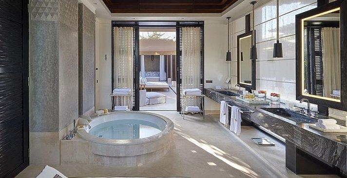 Mandarin Oriental Marrakech - Mandarin Villa Badezimmer
