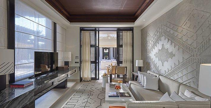 Mandarin Oriental Marrakech - Oriental Villa Wohnzimmer