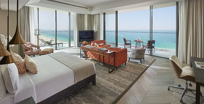 Mandarin Sea Front Suite - Mandarin Oriental Jumeira, Dubai