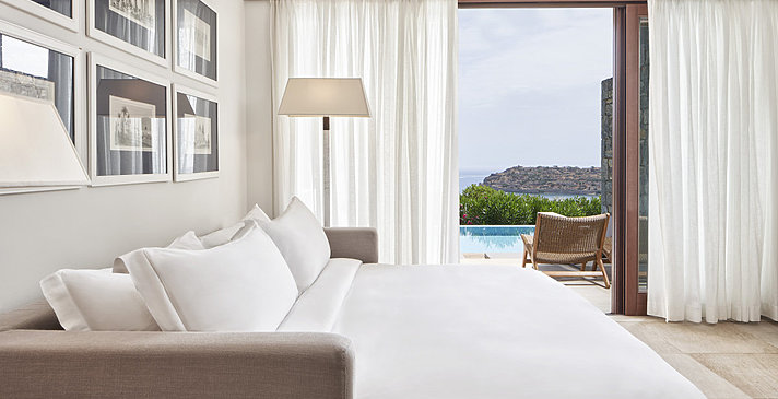Mediterranean Maisonette Suite - Blue Palace, A Luxury Collection Resort & Spa