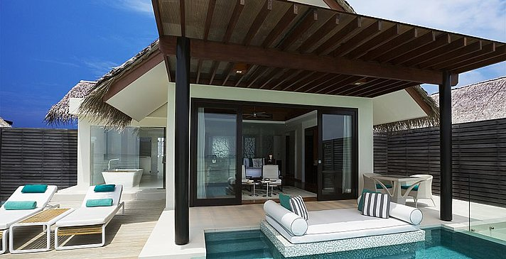 Water Studio mit Pool - Niyama Private Islands Maldives