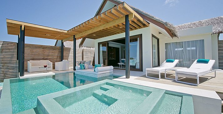 Deluxe Water Studio mit Pool - Niyama Private Islands Maldives