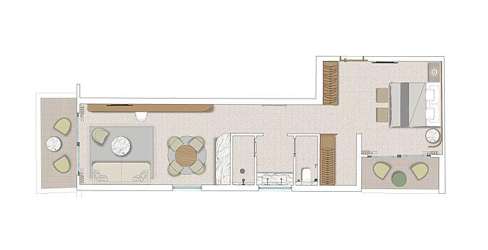 Evergreen Junior Suite with Terrace or Balcony - Numo Ierapetra Beach Resort