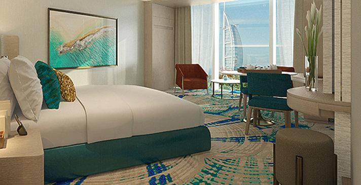 Ab Dezember 2017: Ocean Deluxe / Ocean Deluxe Balcony / Ocean Club - Jumeirah Beach Hotel