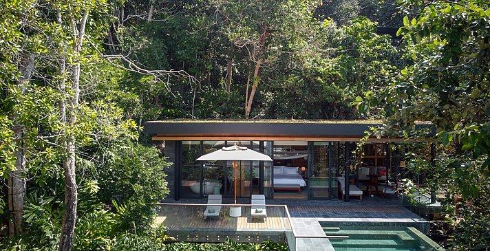 Ocean Front Pool Villa Suite - Six Senses Krabey Island