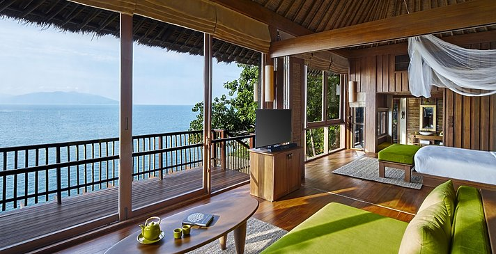 Ocean Front Pool Villa Suite - Six Senses Samui