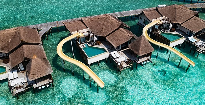 Ocean Pool Suite with Slide - Ozen Reserve Bolifushi