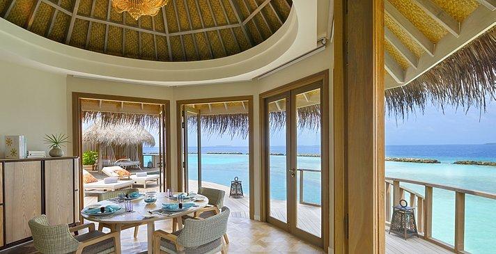 Ocean Residence Esszimmer - The Nautilus Maldives