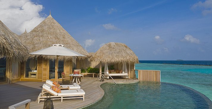 Ocean Residence Pooldeck - The Nautilus Maldives
