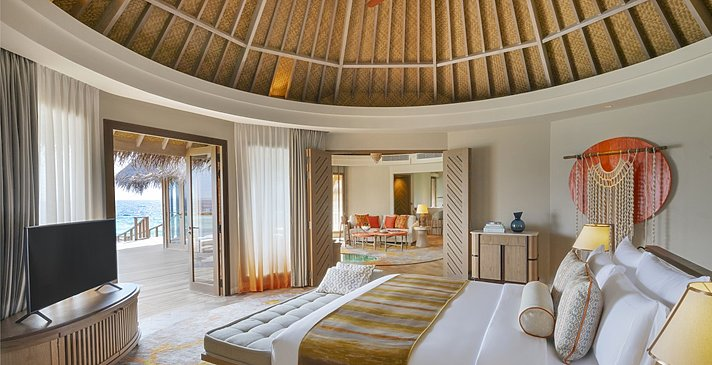 Ocean Residence Schlafzimmer - The Nautilus Maldives