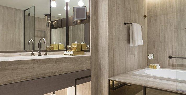 Ocean Suite One Bedroom Badezimmer