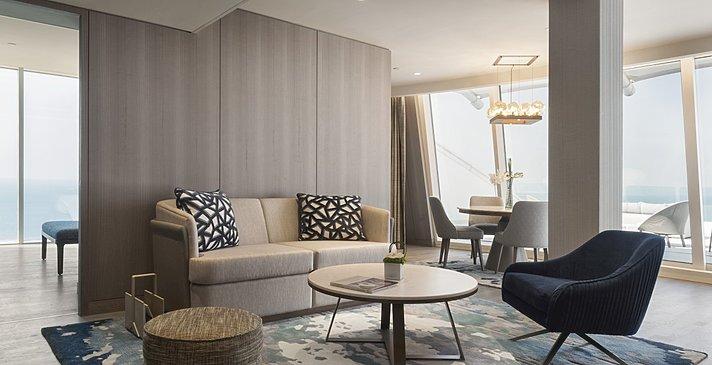 Ocean Suite One Bedroom Wohnbereich