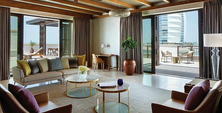 Wohnbeispiel Ocean Terrace Suite - Jumeirah Al Naseem