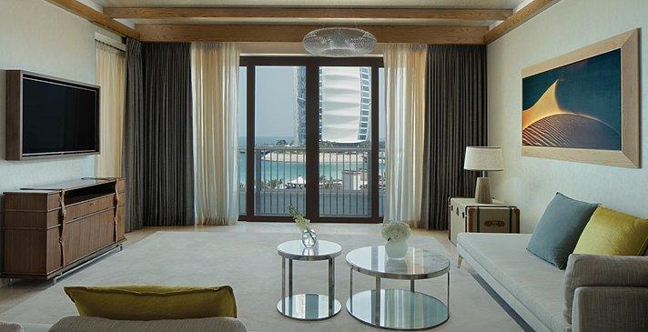 Ocean Suite Wohnzimmer - Jumeirah Al Naseem