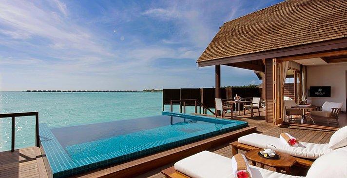 Ocean Villa mit Pool Pooldeck - Hideaway Beach Resort & Spa