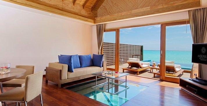 Ocean Villa mit Pool Schlafzimmer - Hideaway Beach Resort & Spa