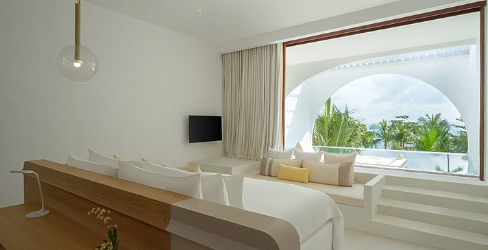 Oceanfront Balcony Pool Suite - SALA Samui Chaweng Beach Resort