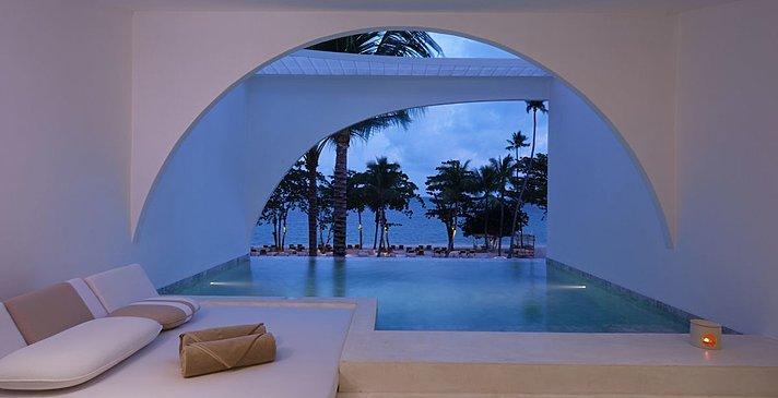 Oceanfront Balcony Pool Suite - SALA Samui Chaweng Beach Resort