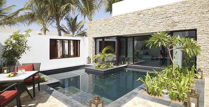 One Bedroom Garden View Pool Villa Außenbereich - Al Baleed Resort Salalah by Anantara