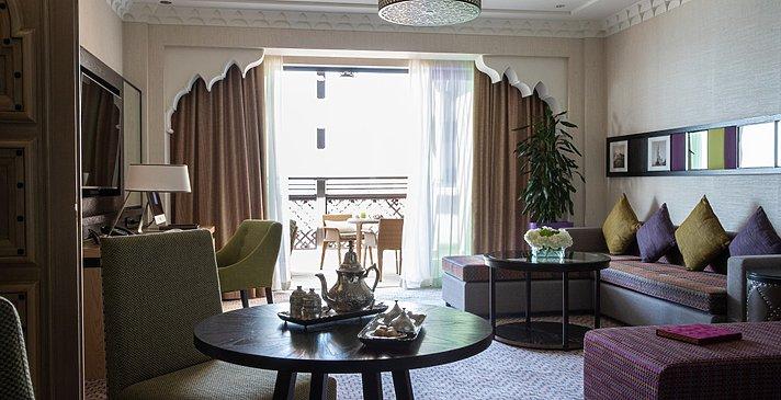 One Bedroom Ocean Suite Wohnzimmer