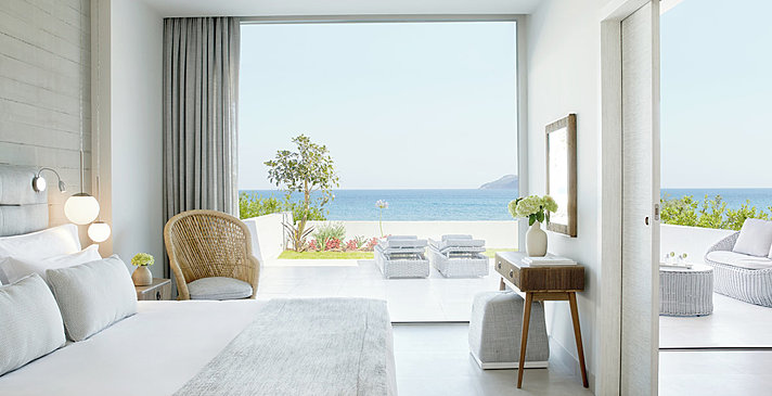 One Bedroom Suite Private Garden Sea View - Ikos Aria