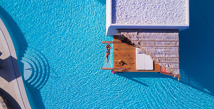 Over Water Bungalow - Stella Island Luxury Resort & Spa