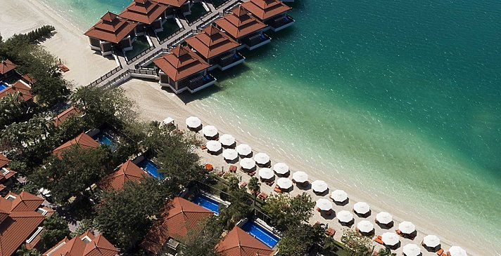 Overwater Villas - Anantara Dubai