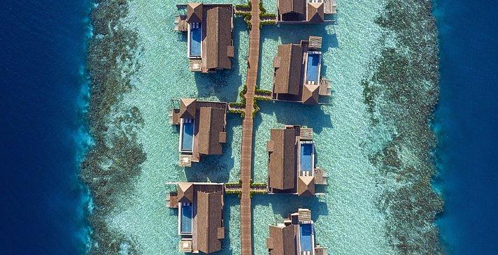 Overwater Villas - Waldorf Astoria Maldives Ithaafushi