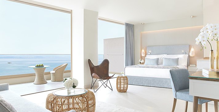 Panorama Junior Suite Sea View - Ikos Dassia