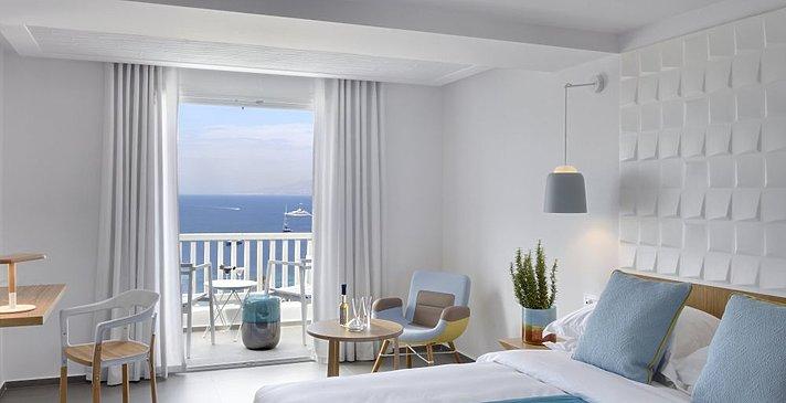 Panoramic Premium VIew - Myconian Korali Relais & Chateaux