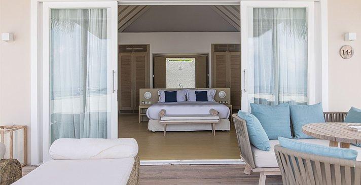 Pool Sunset Beach Villa - Baglioni Resort Maldives