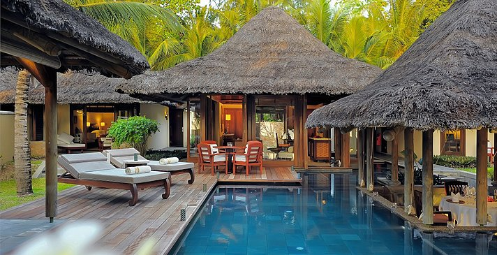 Pool Villa (1 oder 2 Bedroom) Pool - Constance Lemuria Seychelles