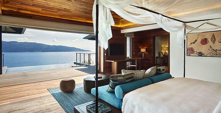 Ocean Front Pool Villa - Six Senses Zil Pasyon