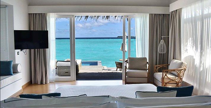 Pool Water Villa - Baglioni Resort Maldives