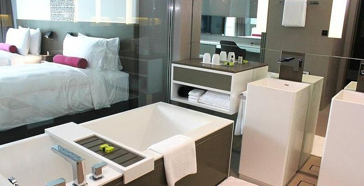 Premium Room Badezimmer - InterContinental Dubai Marina