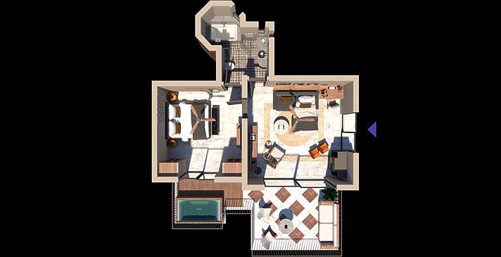Premium 1 BR Suite - Domes of Elounda, Autograph Collection