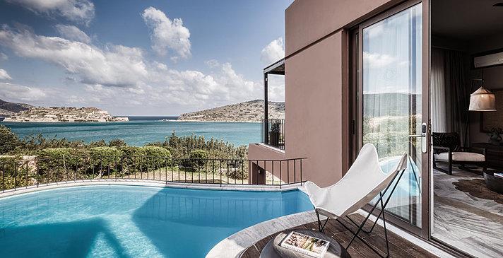 Premium 1 BR Suite mit Pool - Domes of Elounda, Autograph Collection