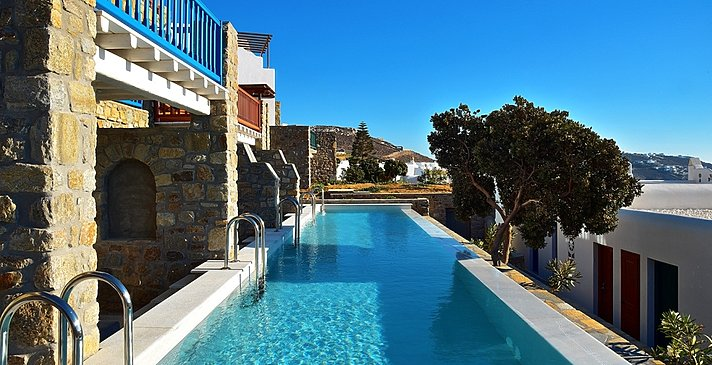 Premium Garden Room Sharing Pool - Mykonos Grand Hotel & Resort