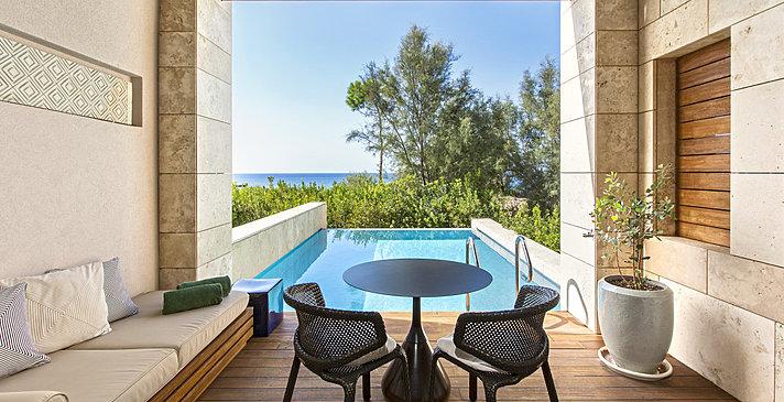 Premium Infinity Room - The Romanos, a Luxury Collection Resort