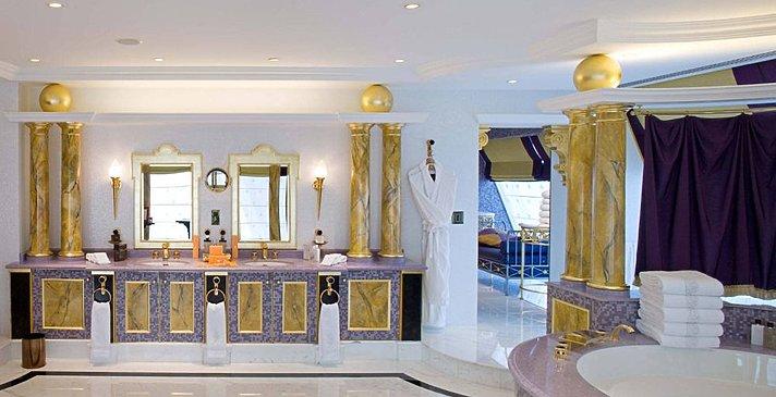 2-Bedroom Presidential Suite Badezimmer - Burj Al Arab Jumeirah