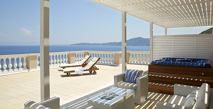 Presidential Suite Sea View - MarBella Corfu